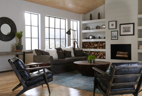 Brooks Lounge Chair Rialto Ebony 4