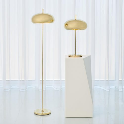 Dome Lamp - Brass