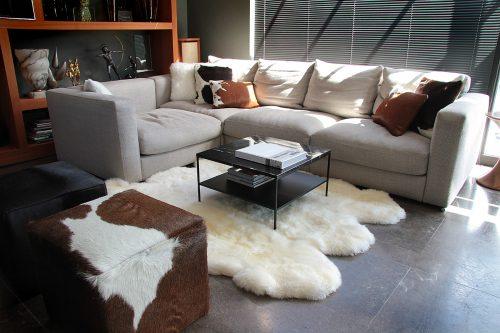 NEWZE sheepskin natural