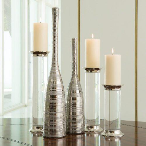 Nifty Vase-Silver