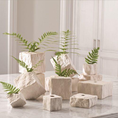 Rocky Block Vase