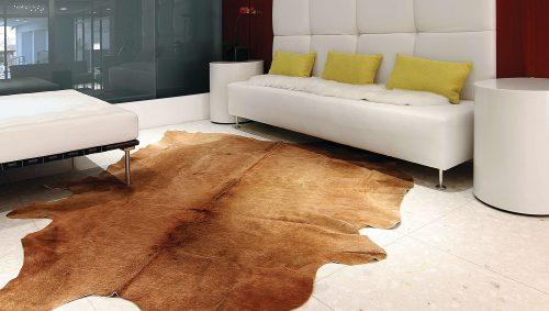 WILD cowhide rug
