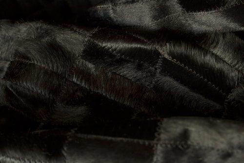 WILD cowhide black zoom