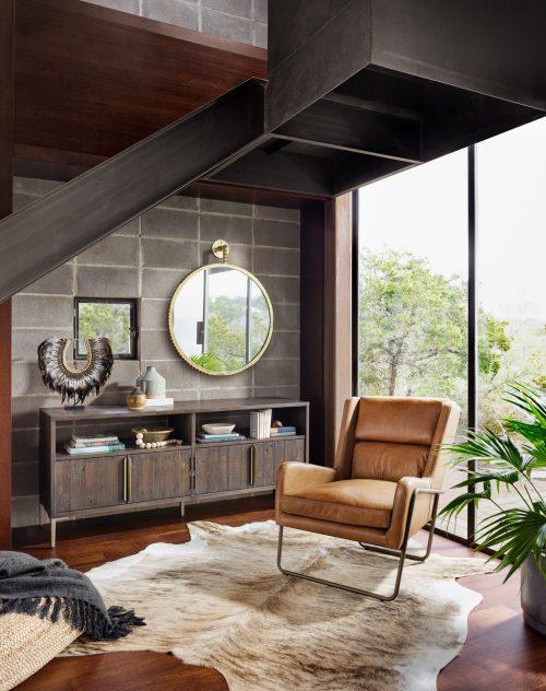 Wembley Chair Patina Copper